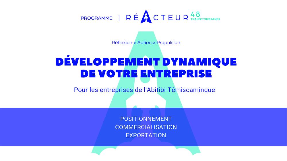 Un programme de propulsion commerciale pour les PME de l'Abitibi-Témiscamingue