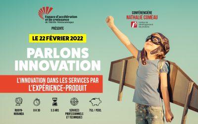 Le 22 février 2022: L'innovation dans les services par l'expérience-produit