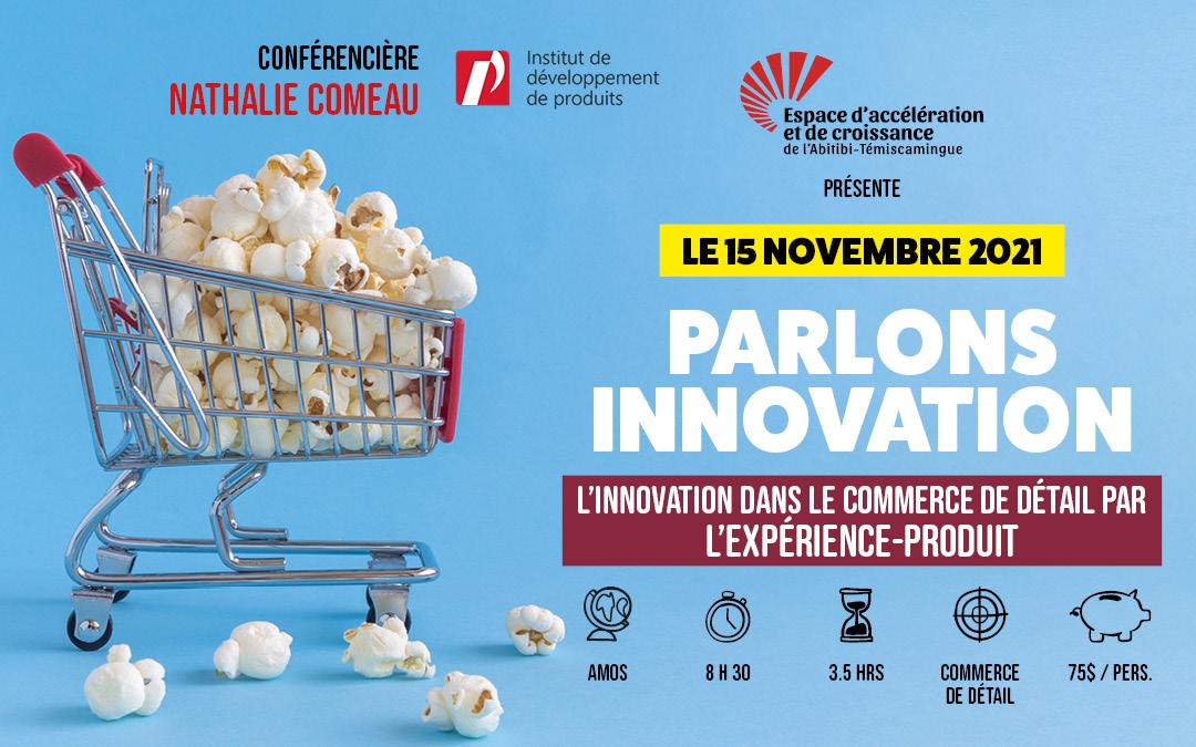 Le 15 novembre 2021: L'innovation dans les commerces de détail